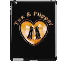 Tux And Flipper iPad Case/Skin