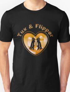 Tux And Flipper T-Shirt