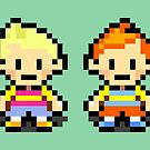 Lucas and Claus - Mother 3 by Studio Momo╰༼ ಠ益ಠ ༽
