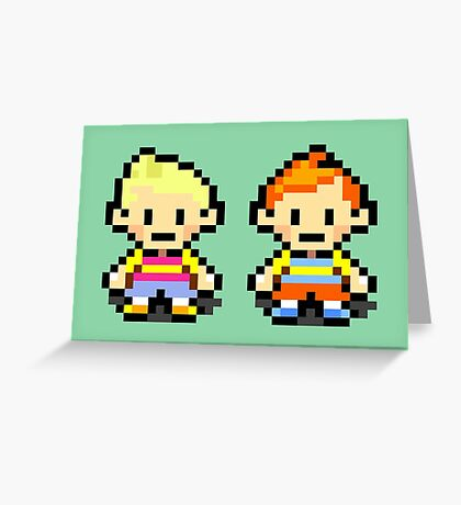 Lucas and Claus - Mother 3 Greeting Card