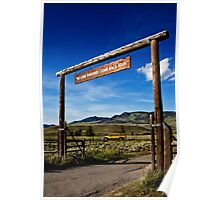 Yellowstone Park 433 Poster