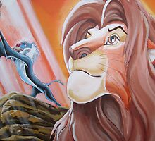 lion king by Deborah Boyle