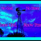 Know God ~ Know Peace by Vince Scaglione