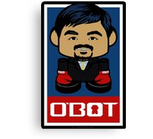 Pacquiao'bot Toy Robot 2.0 Canvas Print