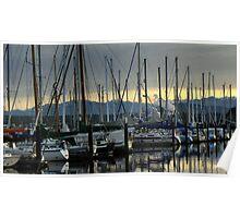 Marina ~ Port Townsend, WA ~ Poster
