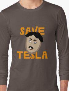 Save Tesla Long Sleeve T-Shirt