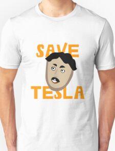 Save Tesla Unisex T-Shirt