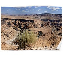 Fish River Canyon River Panorama Poster