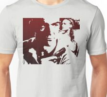 James Bond in Red Unisex T-Shirt