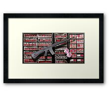 01.19.13 Gun Appreciation Day Framed Print