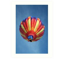 High flying balloon, turning up the burn! Art Print