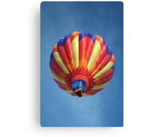 High flying balloon, turning up the burn! Canvas Print