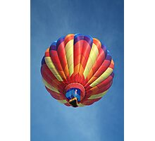 High flying balloon, turning up the burn! Photographic Print