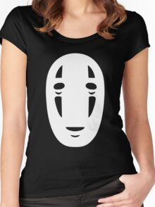 Spirited Away No Face Women's Fitted Scoop T-Shirt