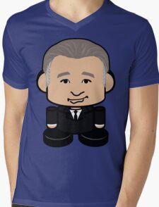 Maher Politico'bot Toy Robot 1.0 Mens V-Neck T-Shirt
