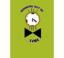 Running out of time! Photographic Print