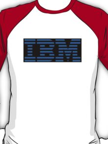 IBM Logo - Black and Blue T-Shirt