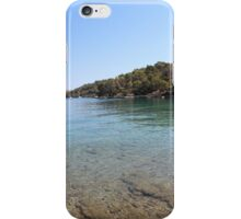 Color of Mediterranean Sea iPhone Case/Skin