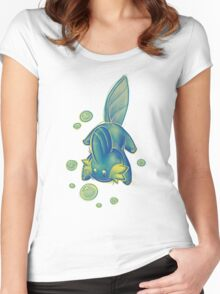 U liek Mudkips Women's Fitted Scoop T-Shirt
