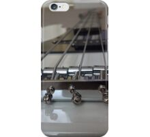 Bass Guitar Black and White iPhone Case/Skin