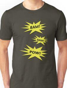 Bam! Bam! Pow! Unisex T-Shirt