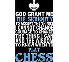 Limited Edition Funny Chess Tshirts Photographic Print