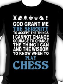 Funny Chess Tshirts, Mobile Covers and Posters T-Shirt