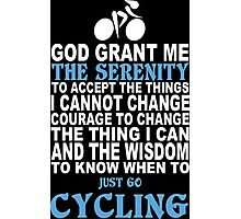 Limited Edition Funny Cycling Tshirts Photographic Print