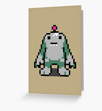 Clayman - Mother 3 Greeting Card