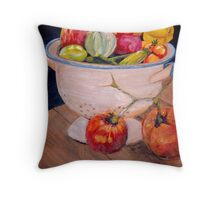 You Say Tomato, I Say ... Throw Pillow