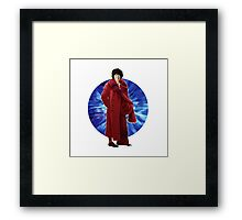 The 4th Doctor - Tom Baker Framed Print
