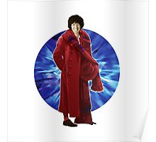 The 4th Doctor - Tom Baker Poster