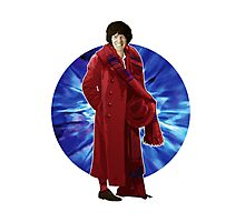 The 4th Doctor - Tom Baker Photographic Print