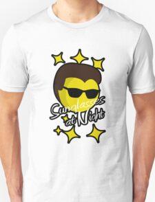 Sunglasses at Night Moon T-Shirt
