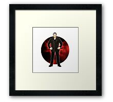 The 9th Doctor - Christopher Eccleston Framed Print
