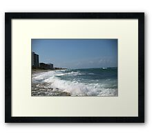 Where is This ??? SOLVED by Marie Terry - 18 guesses - Jupiter, FL Framed Print