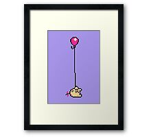 Fishing for Birdies (Mr. Saturn) - Mother 3 Framed Print