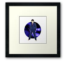 The 10th Doctor - David Tennant Framed Print