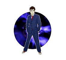 The 10th Doctor - David Tennant Photographic Print