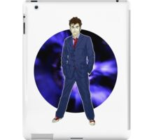 The 10th Doctor - David Tennant iPad Case/Skin