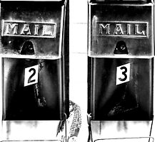Mail 1 2 3 by Amy E. McCormick