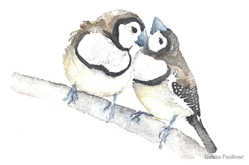 The Love Birds By Denise Faulkner Redbubble