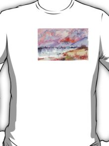 Veld Fire over the mountains T-Shirt