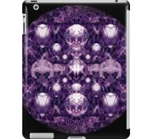 Purple Orbs  iPad Case/Skin