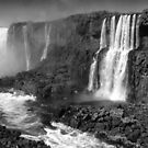 Iguazu in Monochrome by photograham