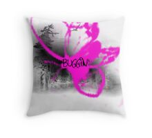 Buggin' III Throw Pillow