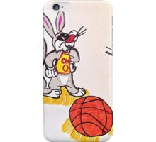 Looney tunes laker and cavaliers iPhone Case/Skin