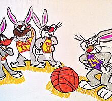 Looney tunes laker and cavaliers by Bnicolearr