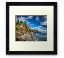 View to Ball Bay Framed Print