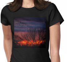 Impressions After Sunset Womens Fitted T-Shirt